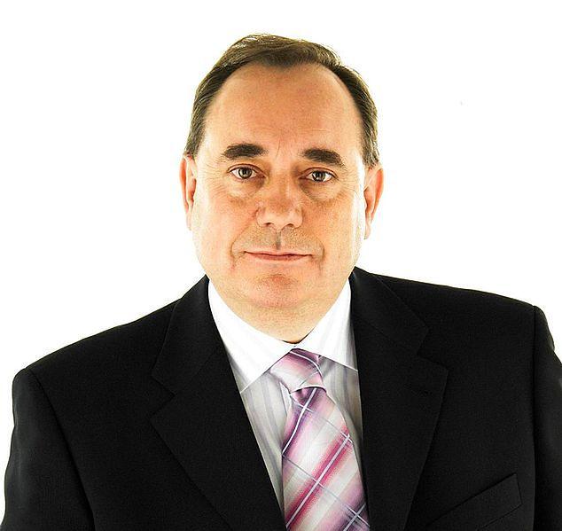 Premier Szkcocji Alex Salmond
