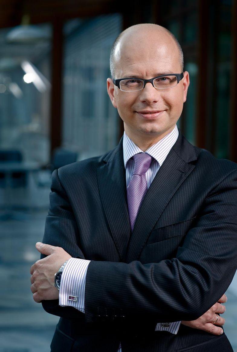 Piotr Szeliga, prezes spółki Boryszew