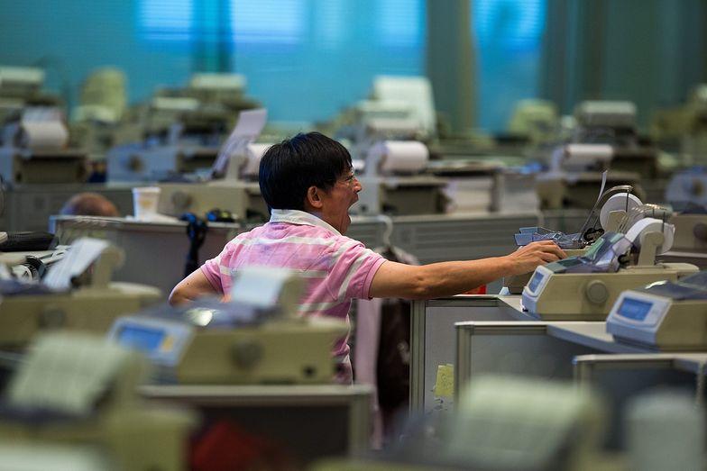 Krach na giełdzie w Chinach. Największy spadek od 2007 roku