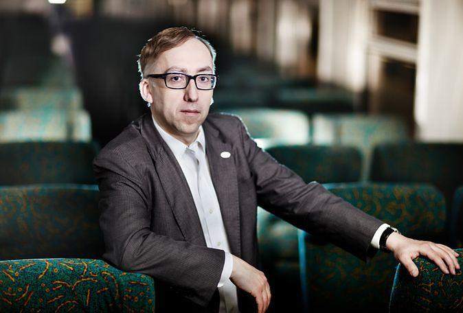 Prezes PKP S.A. Jakub Karnowski