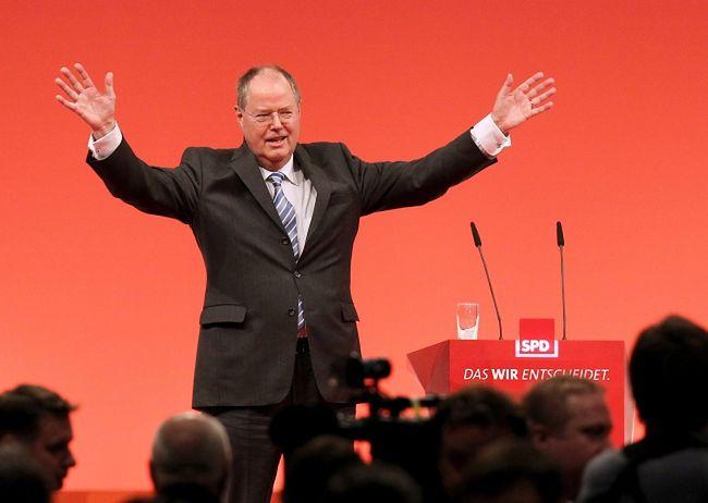 Steinbrueck walczy o wyborczy sukces