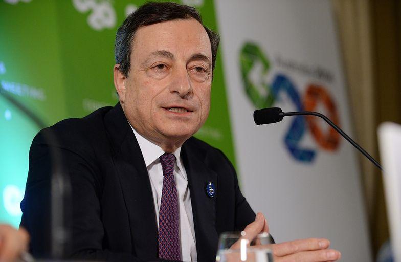 Mario Draghi, szef EBC na szczycie G20