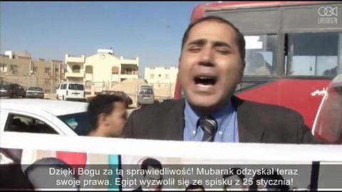 Egipski sąd wycofał zarzuty o morderstwo przeciwko Mubarakowi