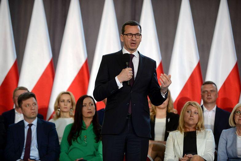 Morawiecki polidczył sukcesy rządu PiS