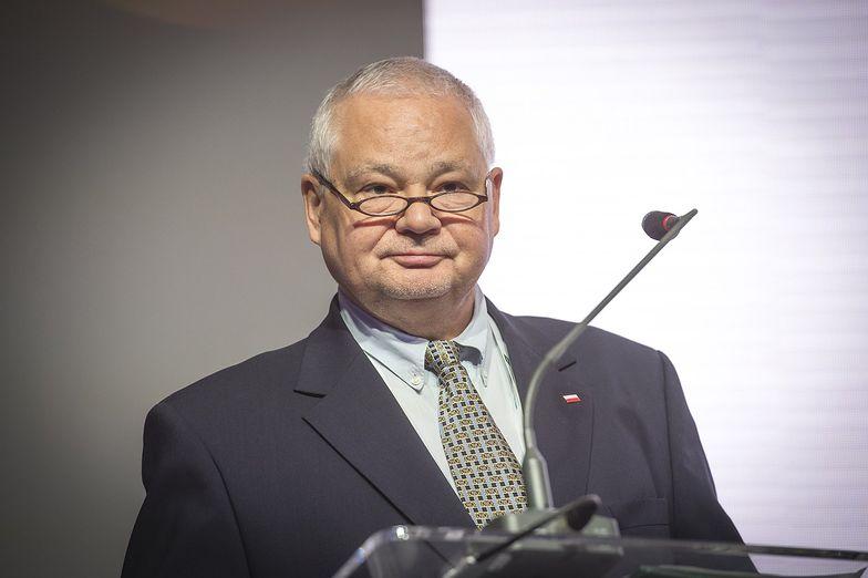 Prof. Adam Glapiński bronił Marka Chrzanowskiego po jego wymuszonej dymisji.