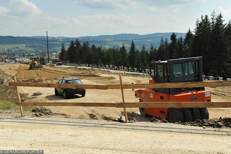 Astaldi realizuje m.in. inwestycję na trasie do Zakopanego