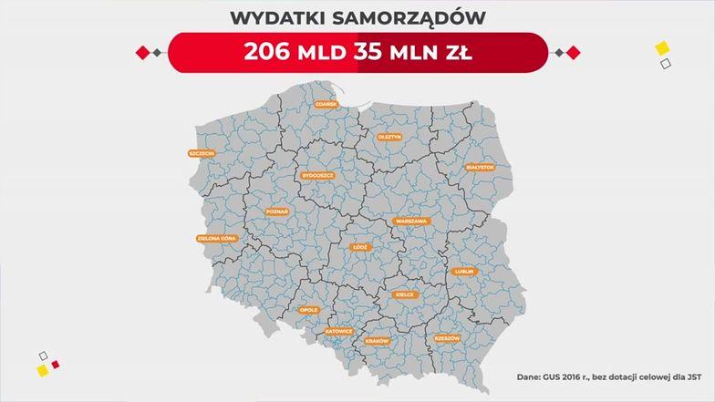 Samorządy w Polsce wydają fortunę. Skąd mają na to pieniądze?