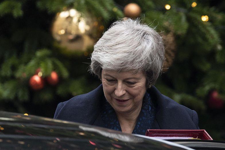 Theresa May ma silną opozycję