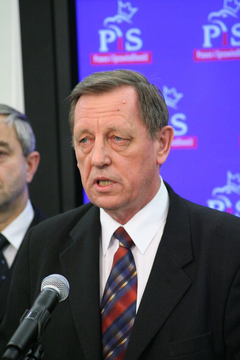 Jan Szyszko, minister środowiska w rządzie PiS.