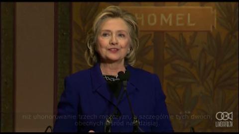 Nagroda Clintona dla Ministra Spraw Zagranicznych Wielkiej Brytanii i fundatora szpitala DRCongo