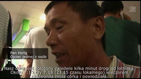 Rodziny ofiar lecą na miejsce katastrofy samolotu na Tajwanie.
