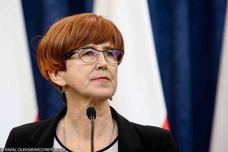 Rafalska powiedziała, że niskie bezrobocie zmusza do sięgnięcia po grupy, które nie pracowały.