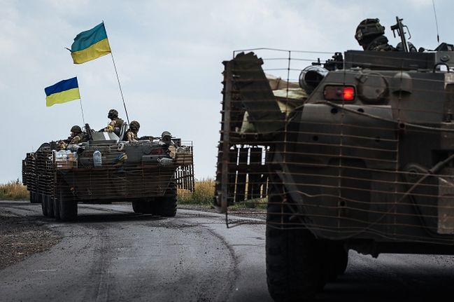 Ukraińskie wojsko nie radzi sobie z rebelią na wschodzie kraju</br>