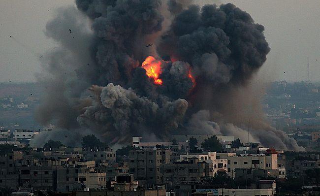 Wojna w Palestynie. Trwa potężny ostrzał ze Strefy Gazy