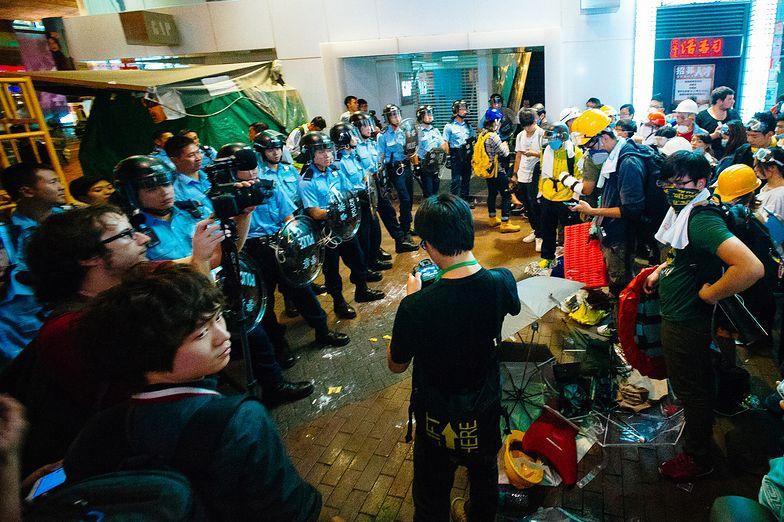 Przywódca protestujących żąda pełnej demokracji i reform politycznych