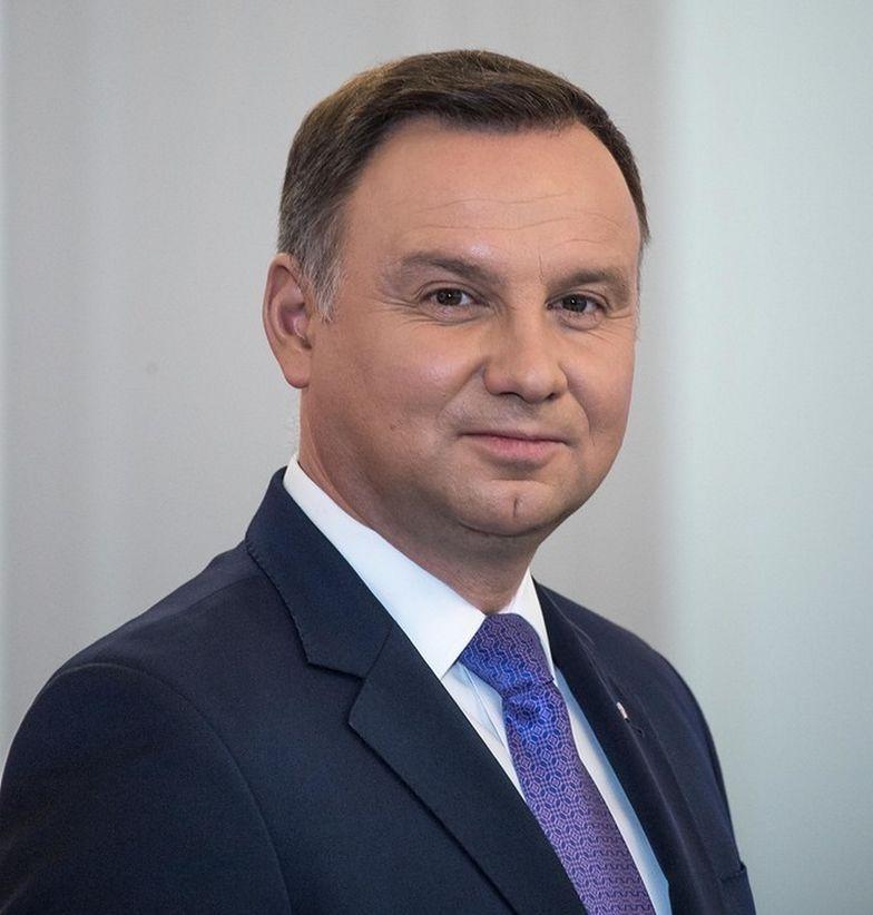 Prezydent Andrzej Duda znów przyjechał na szczyt w Katowicach