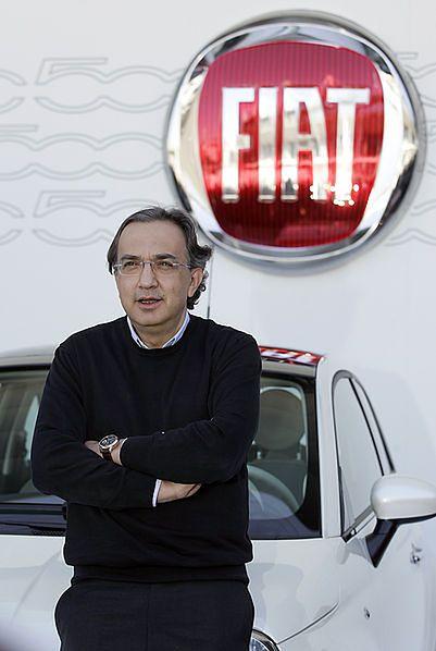 Sergio Marchionne, prezes Fiata