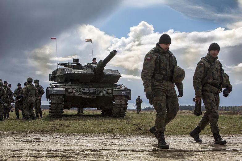 Leoprady są obecnie podstawowym czołgiem polskiej armii.