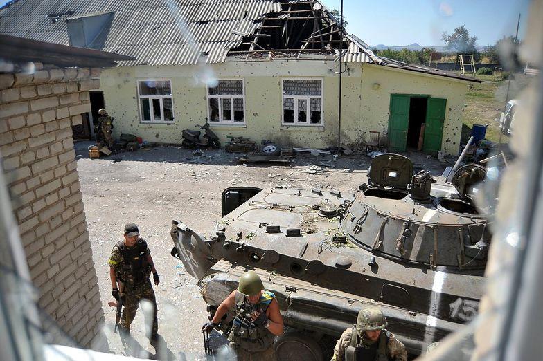 Na wschodzie Ukrainy trwają regularne walki</br>