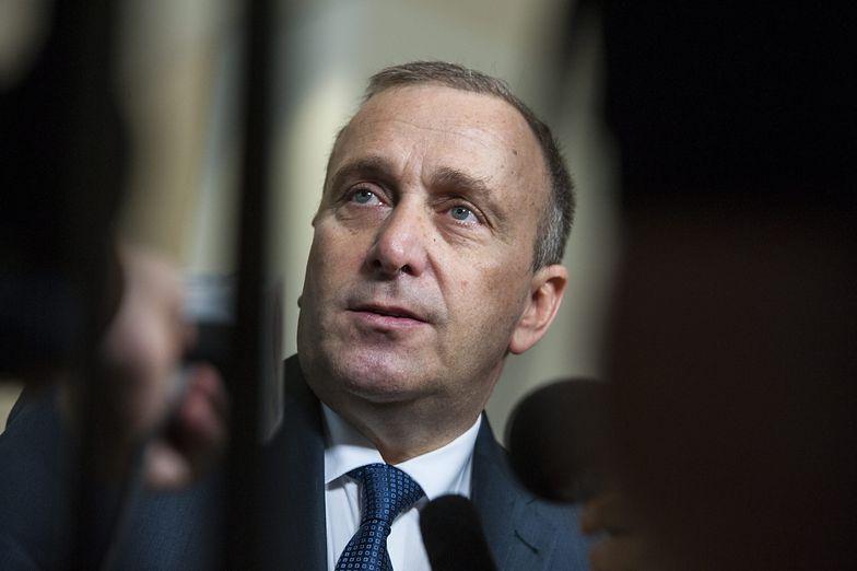 Grzegorz Schetyna, szef Ministerstwa Spraw Zagranicznych