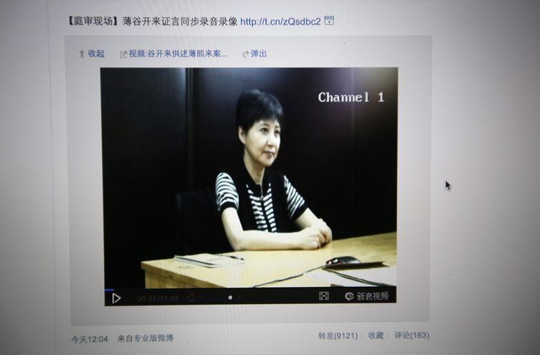 Proces Bo Xilaia. Żona polityka: wiedział o łapówkach