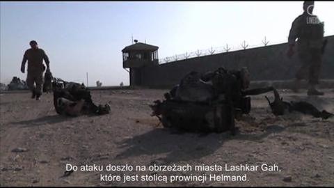 W samobójczym ataku bombowym zginęło trzech oficerów ochrony