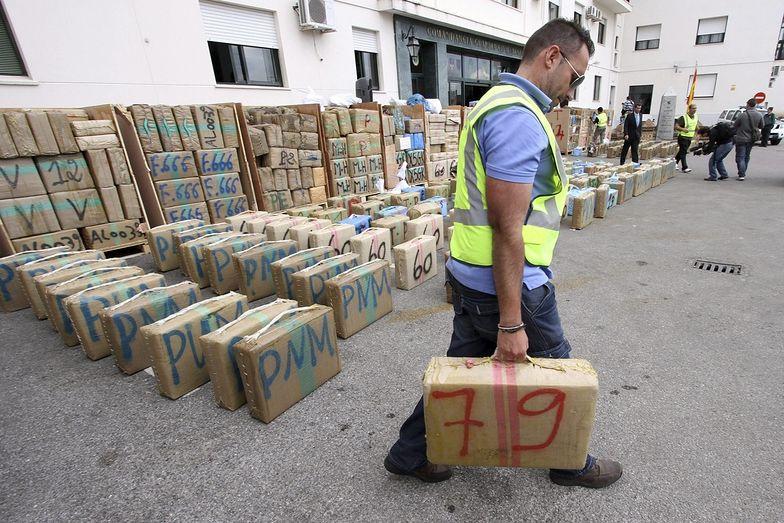 Skonfiskowano dwie tony narkotyków