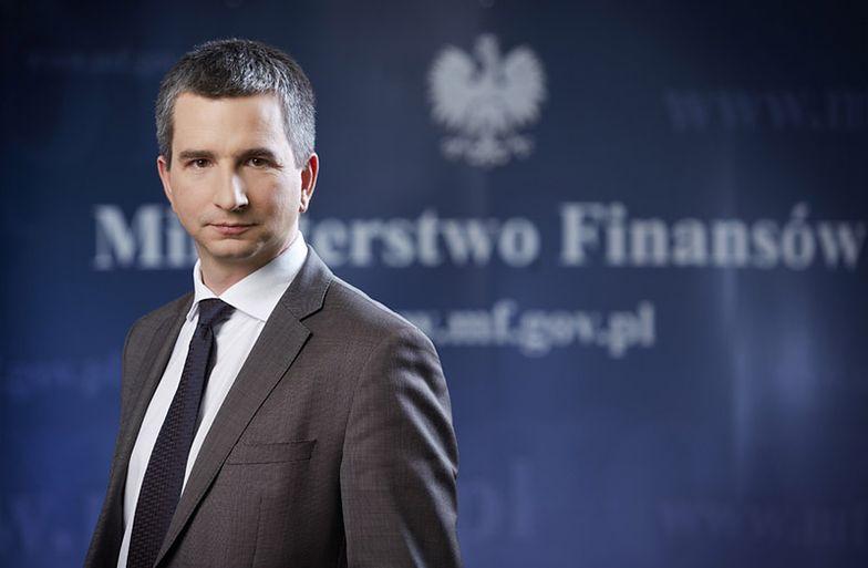na zdjęciu: minister finansów Mateusz Szczurek
