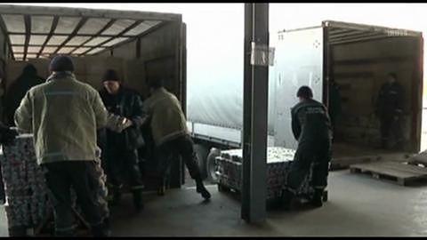 Ukraiński rząd wysyła pomoc humanitarną do wschodnich regionów kraju