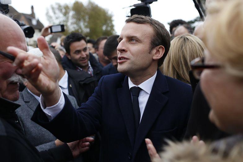 Wybory prezydenckie we Francji. Macron krytykuje Polskę i żąda nałożenia sankcji