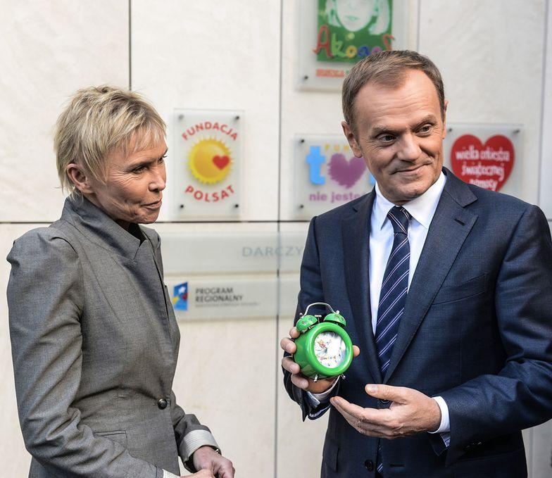 Donald Tusk odwiedził klinikę Budzik dla dzieci w śpiączce