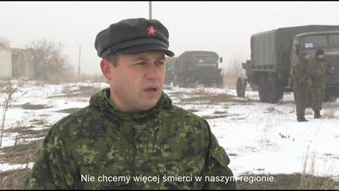 Żołnierze wycofują broń z Ługańska