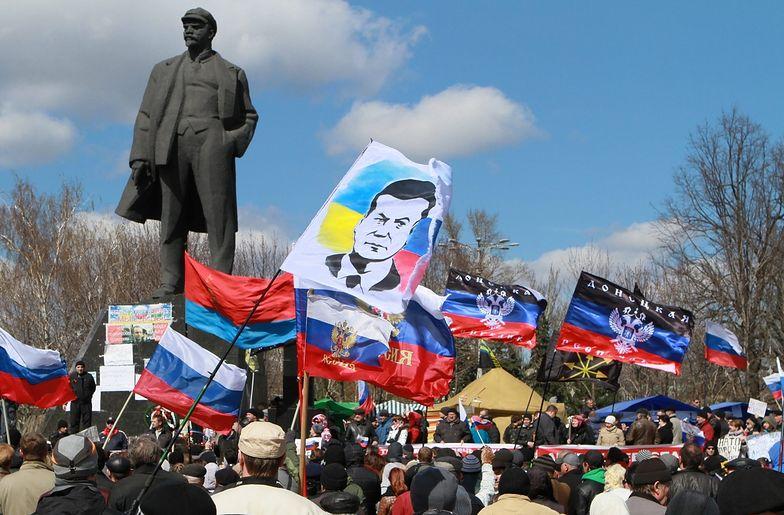 """Demonstracje na Ukrainie. """"Chcemy Rosji i Stalina"""""""