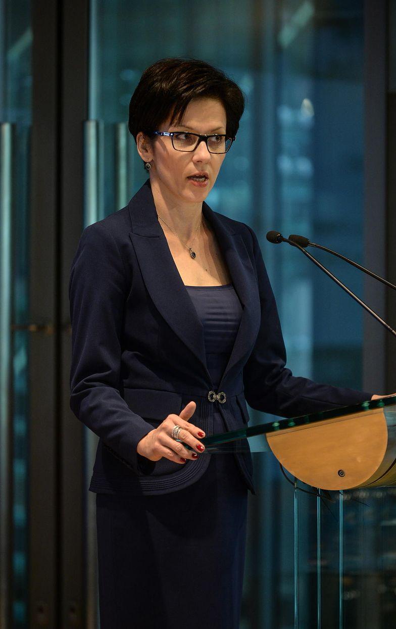 Prof. Małgorzata Zaleska, prezes GPW