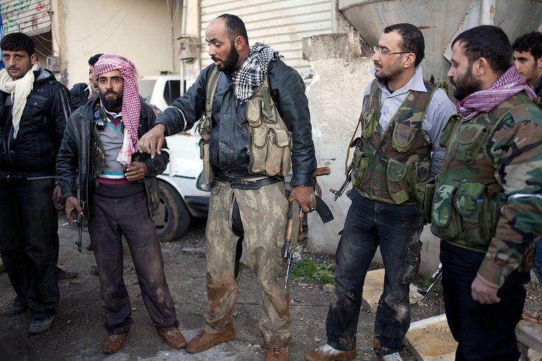Syria w ogniu walk. Minister ostrzega Palestyńczyków
