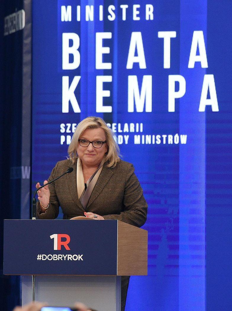 Beata Kempa o priorytetach dla rządu w 2017 r.: ochrona zdrowia i gospodarka