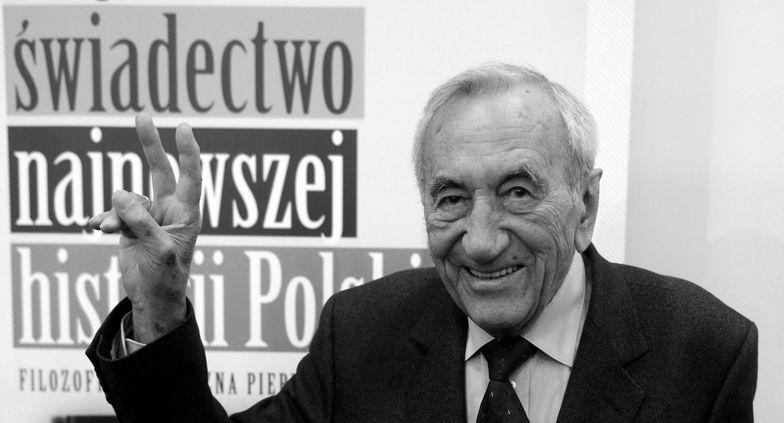 Rząd uczcił pamięć Tadeusza Mazowieckiego