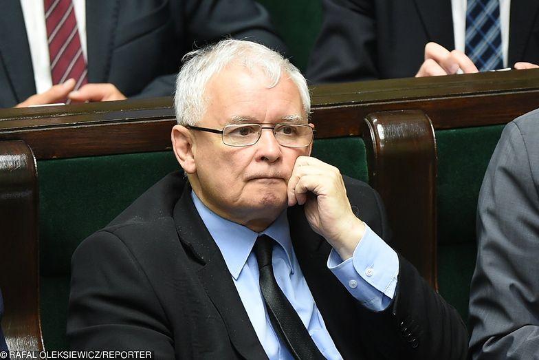 18.07.2017, Warszawa. Jarosław Kaczyński w Sejmie.