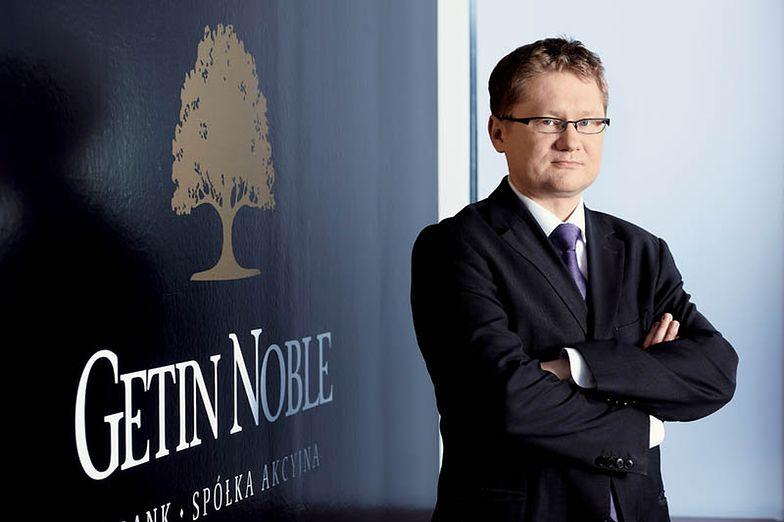 Krzysztof Rosiński, prezes Getin Noble Banku