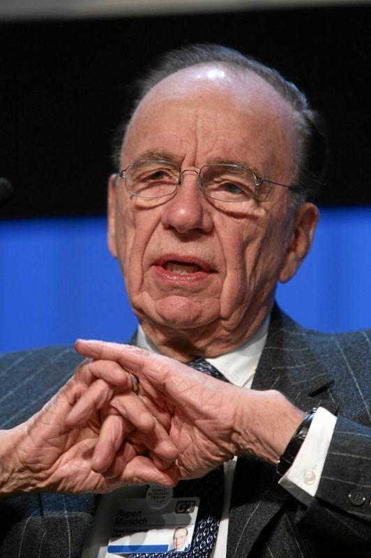 Rupert Murdoch oddaje stery grupy Fox synom
