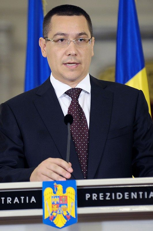 Victor Ponta, premier Rumunii