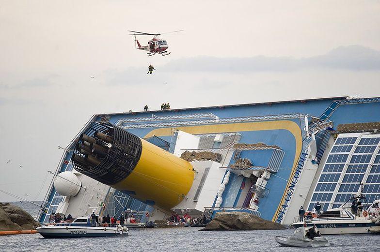Czarna skrzynka Costa Concordia: seria błędów i chaos
