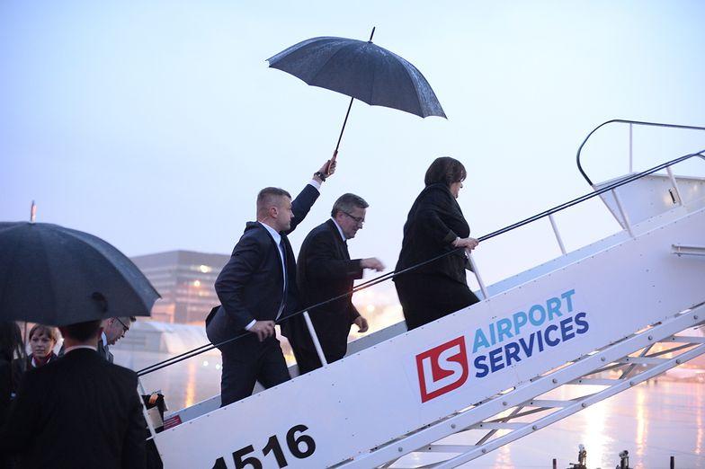 Prezydent wyleciał z Polski wczoraj po południu