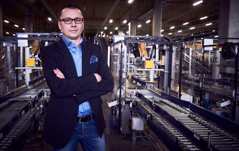 Wiceprezes Jacek Kujawa jest odpowiedzialny w LPP za logistykę i IT.