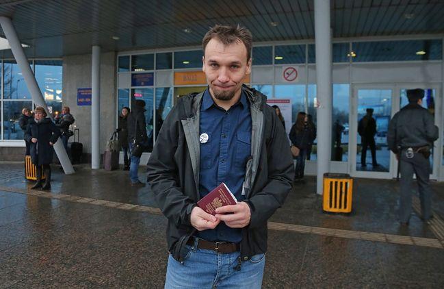 Akcje Greenpeace. Dziemianczuk już w Polsce