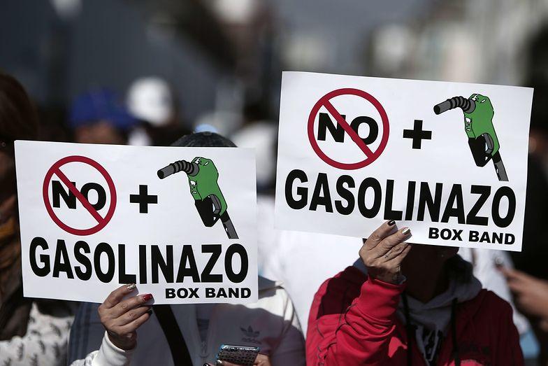 W Meksyku kryzys po podwyżce cen benzyny. 6 osób nie żyje