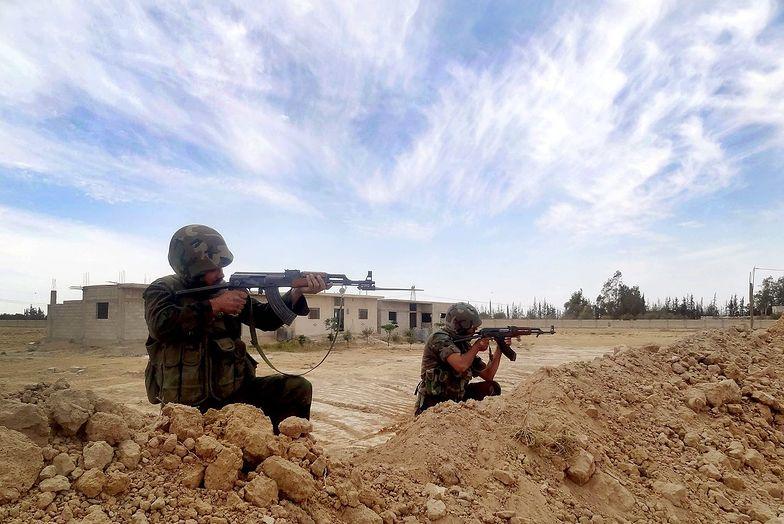 Wojna domowa w Syrii. Reżim użył broni chemicznej?