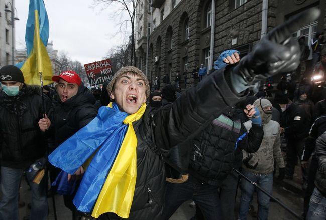 Zamieszki na Ukrainie to wina rządowych prowokatorów?