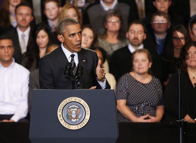 Obama ostro o czarnoskórych demonstrantach