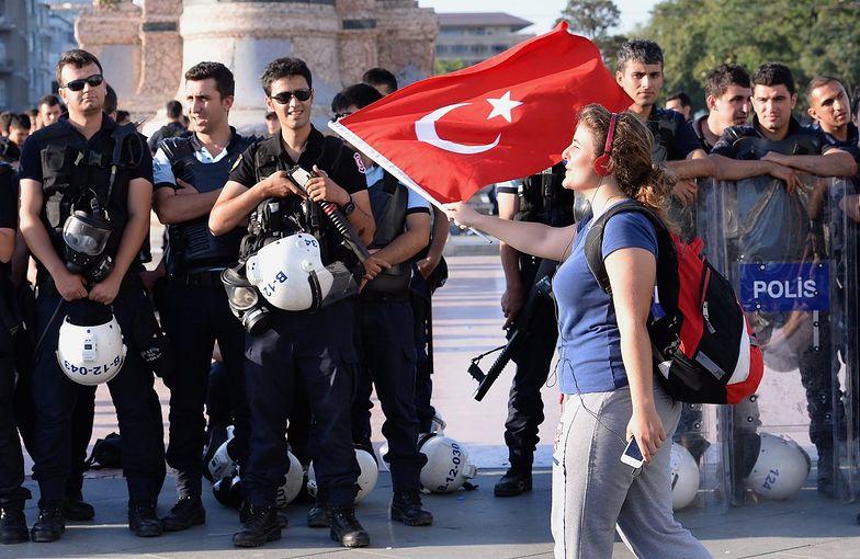 Wczorajsze protesty w Stambule